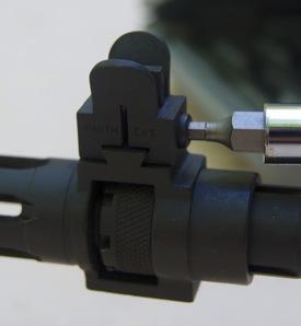 Smith Enterprise Tritium Close Combat Sight installation