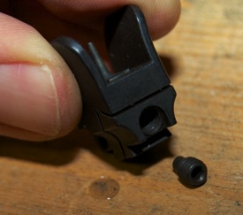 Tech Sights GI Aperture for Ruger 10 22 installation