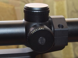 Bushnell Elite Tactical SMRS turret caps
