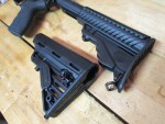 Replacing the Buttstock on your AR-15: The Blackhawk! Adjustable Carbine Rifle Buttstock