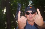 The Seven Deadly Sins of Handgun Shooting: Not Flipping the Bird