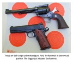 Single-Action Handguns: Not Much To Do With Chance Laundromat Encounters