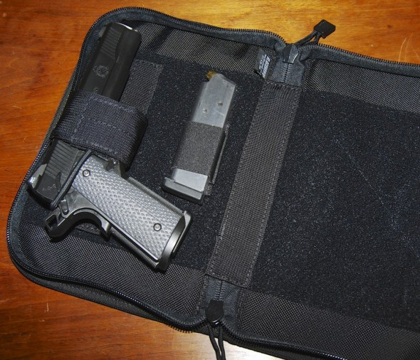 The Blackhawk! Day Planner Holster - a nifty way to hide your gun in plain sight.