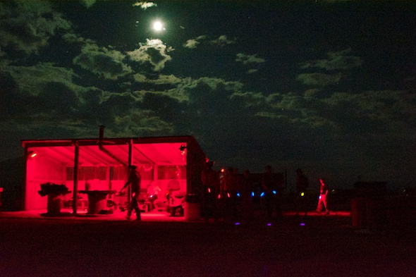 Why not hold a 3 Gun match in the middle of the night? It works for match sponsor Crimson Trace!