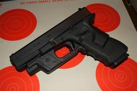 Glock 17 Crimson Trace lightguard lasergrips 9mm