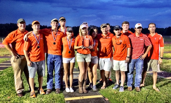 Team Clemson took top team honors.