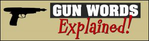 Gun Terminology Alert!