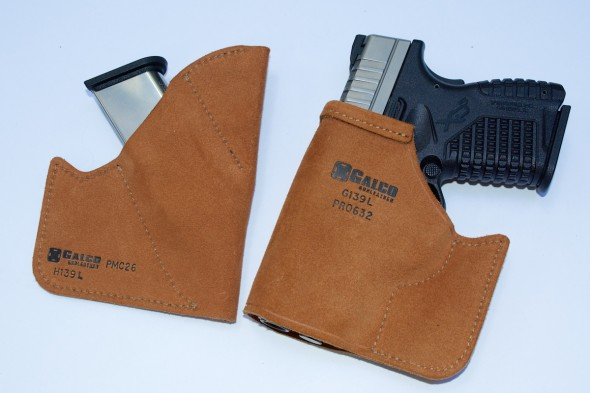 A pair of pocket carry options from Galco.