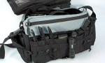 The BLACKHAWK! Diversion Courier Bag is a master of disguise. All business on the outside, tactical on the inside.