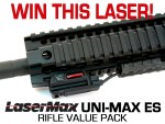 Win This LaserMax UNI-MAX ES Rifle Value Pack