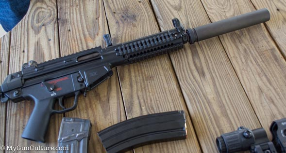 What's more fun than .300 AAC Blackout full automatic? suppressed? Not much.