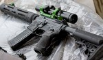 The Smith & Wesson M&P 15 VTAC I with Warne RAMP scope mount and Bushnell Tactical Elite optic.