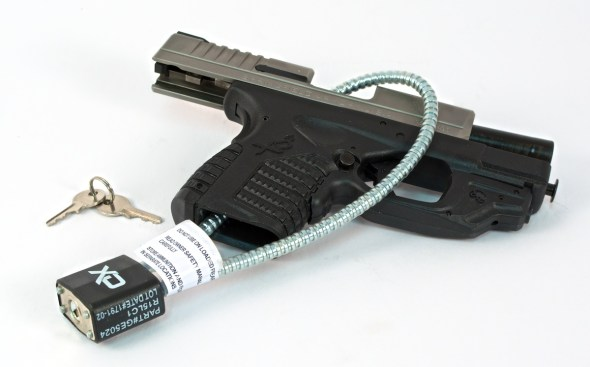 Home gun safety solutions free to not so free my gun culture gun safety in the home can be as easy as using a gun lock seen fandeluxe Choice Image