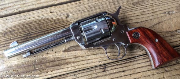 Ruger Vaquero chambered in 40 S&W and .38-40