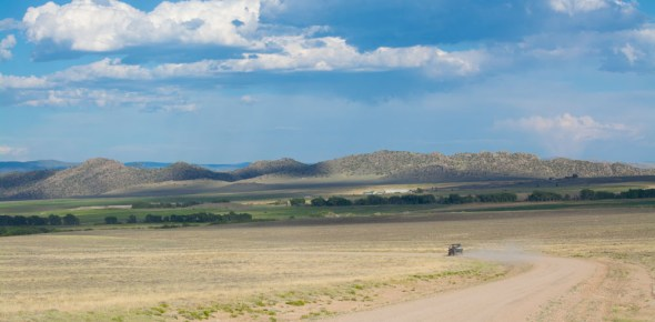 The Battlefield: The Silver Spur Ranch in Encampment, Wyoming.