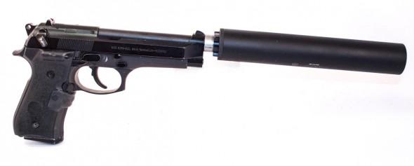A classic combination: Beretta 92FS + Silencer