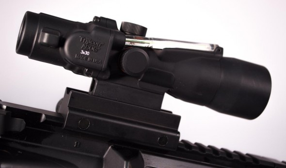 While a bit slimmer, Trijicon's 300 AAC Blackout model shares many of the same features that made ACOG's so popular.