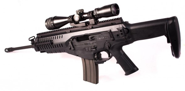 The Beretta ARX100 is designed to be a Transformer.
