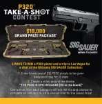 It's Time to Get Your Sig On! (If You Want to Win a Boatload of Free Guns)