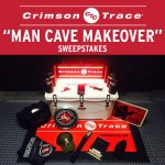 Man Cave Makeover or Dame Den Remodeling Sweepstakes from Crimson Trace