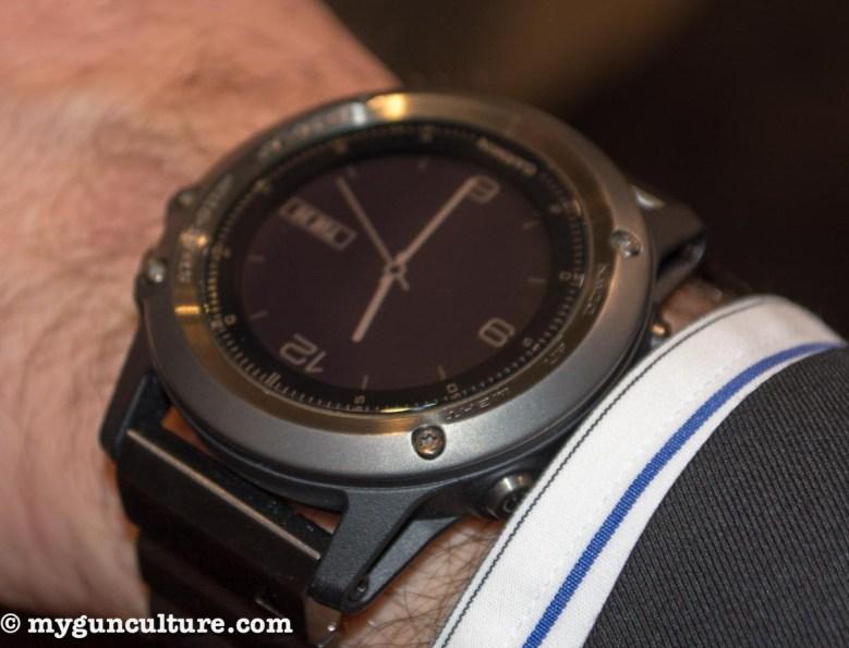 Garmin's new GPS watch.
