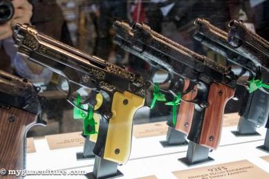 Some fancy Beretta 92s