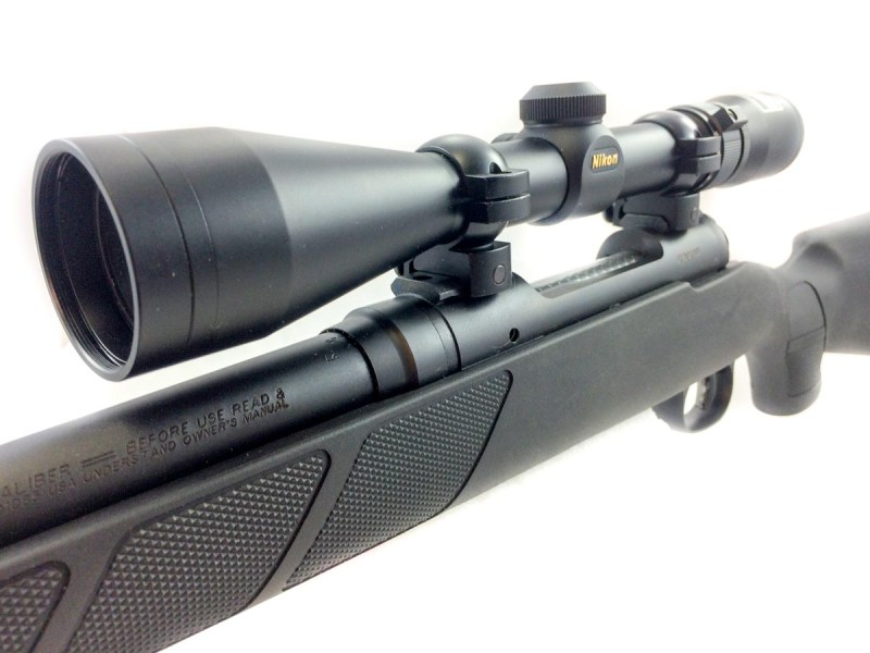 The Savage M-11 Trophy Hunter XP comes complete with Nikon 3-9x scope.