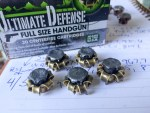 Ammo Test: Remington Ultimate Defense 9mm 124 Grain Full Size Handgun