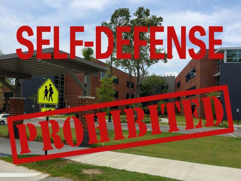 Self-Defense Prohibited Zones