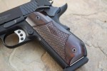 The rounded butt of the SW1911 Sc helps with concealment and shooting comfort.