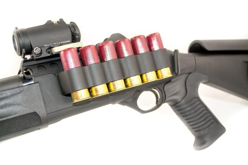 Shotguns are insatiable ammo-eaters, so one thing to consider is extra storage onboard.