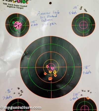 Accuracy was outstanding for lower-cost ammunition.