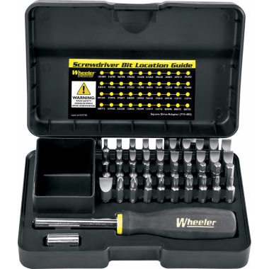 Why not give your gunnie a gift they're less likely to buy on their own. These Wheeler gunsmith tools will prevent damage to valuable guns.