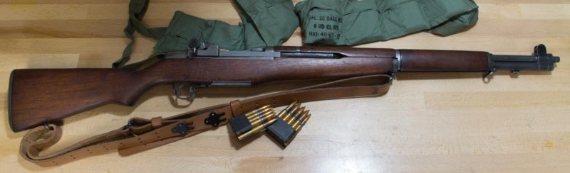 A 1945 M1 Garand from Springfield Armory