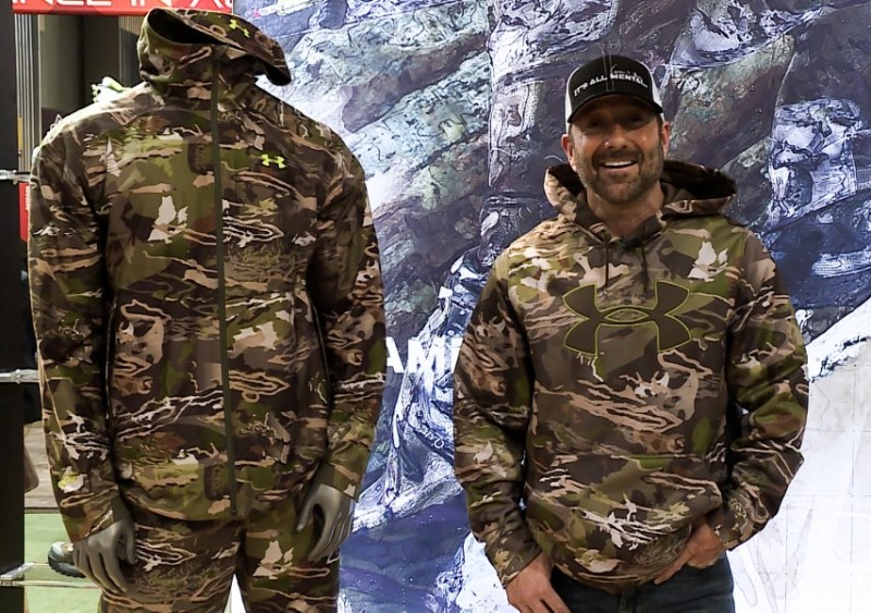 Cameron Hanes and the new Under Armour Ridge Reaper Forest camo exclusively from Cabela's.