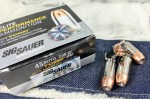 Ammo Test: Sig Sauer Elite Performance .45 ACP 230-grain V-Crown