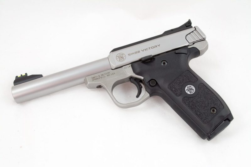The Smith & Wesson SW22 Victory base model.
