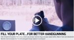 Fill Your Plate… For Better Handgunning [VIDEO]