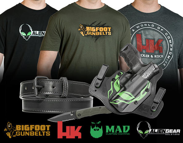 Alien Gear Holster and H&K VP9 giveaway