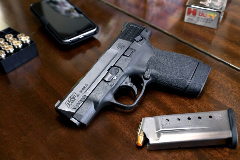 The new Smith & Wesson Shield in .45 ACP