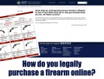 How to purchase a firearm online