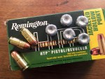 Ammo Test: Remington HTP 185-grain .45 ACP