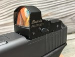 Speed and field of view benefits make red dot sights a great option for handguns or rifles.