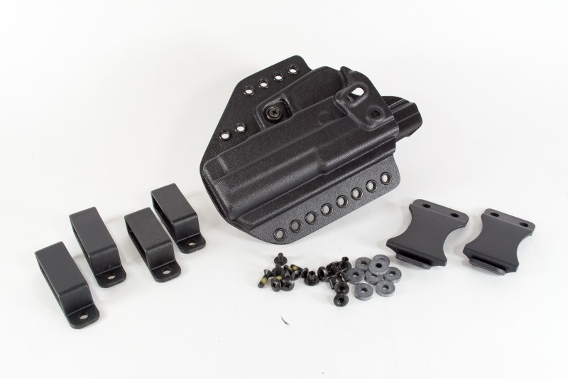 You can order the Evo with a complete hardware kit that includes everything you need for 1.5 and 1.75-inch belts.