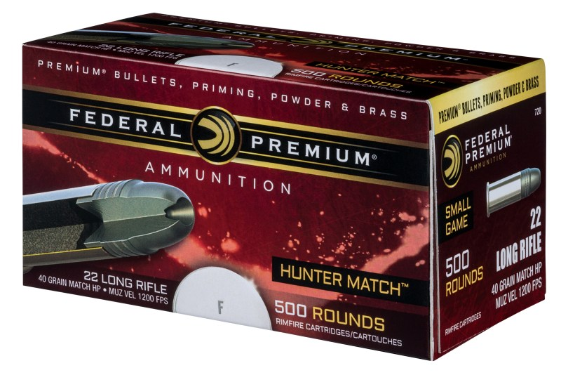 Federal Premium Federal Premium's new Hunter Match 22 Long Rifle ammo