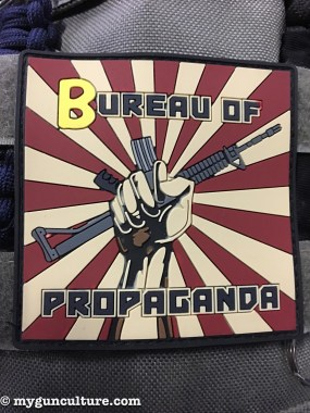 I was sworn in as a fully certified #2A propaganda agent at SHOT Show 2017, so behave all y'all or I just might propagandize you.