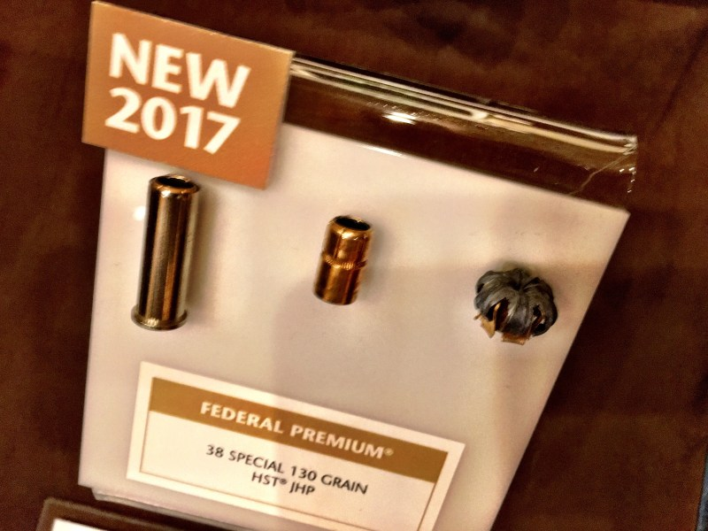Federal Premium's new 130-grain .38 Special HST ammunition made specifically for short-barrel revolvers.