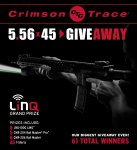 Crimson Trace 5.56×45 Giveaway – Win A Brand New LinQ AR-15 Light And Laser