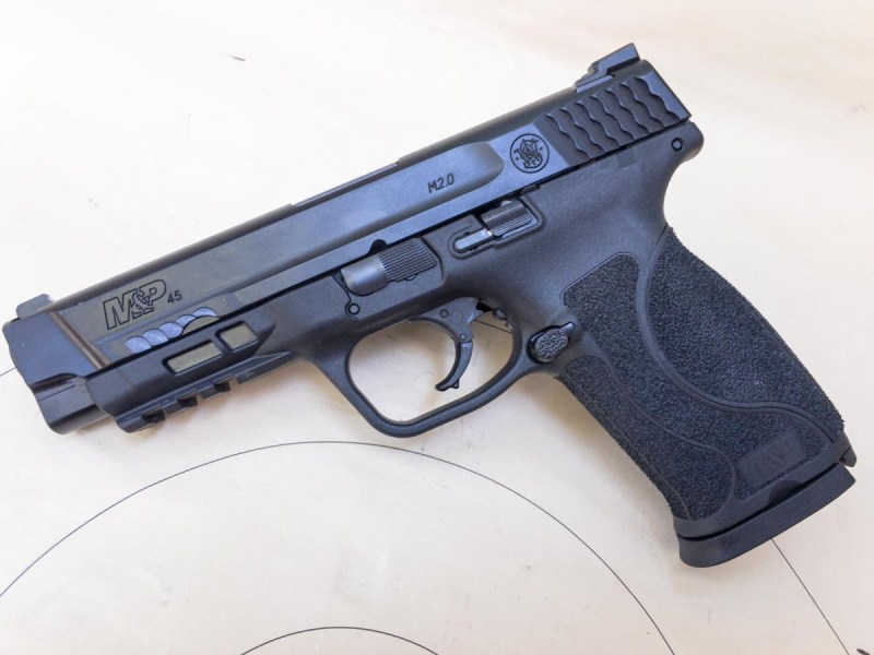 The new Smith & Wesson M&P 45 2.0 packs 10+1 rounds of .45 ACP.