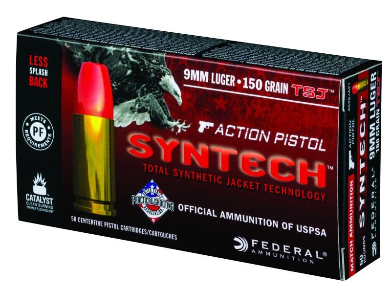 Federal Syntech Action Pistol Ammunition